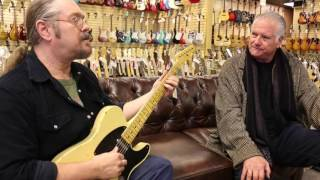 Norm on the couch with John Woodhead who's playing that Nash T-52