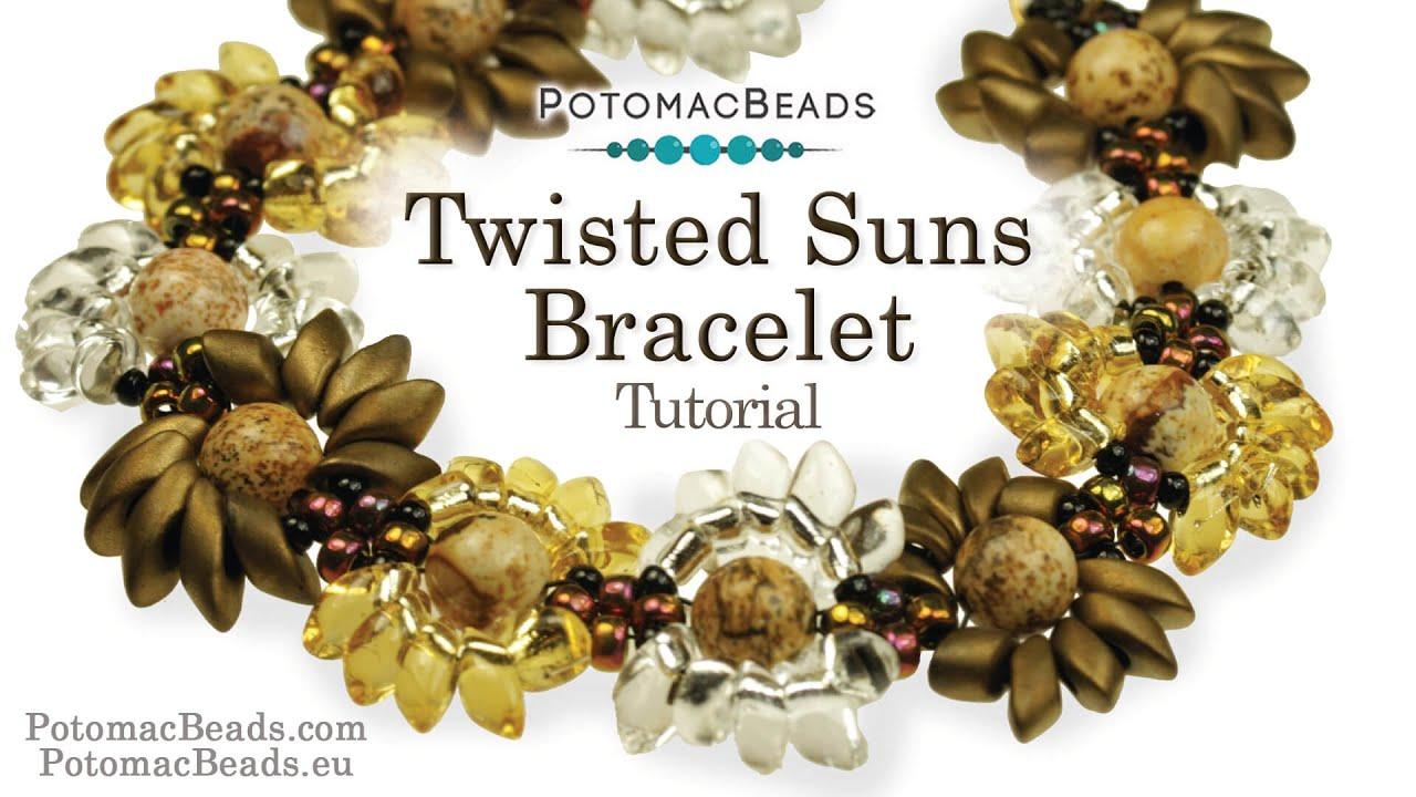 Make a \'Twisted Suns\' Bracelet - YouTube