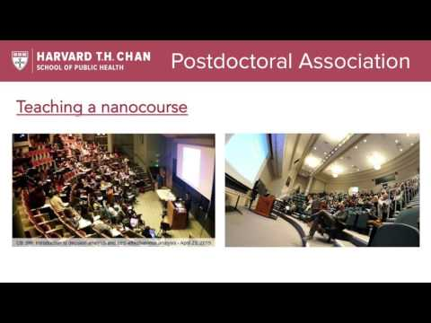 Orientation for new Postdocs and Research Associates