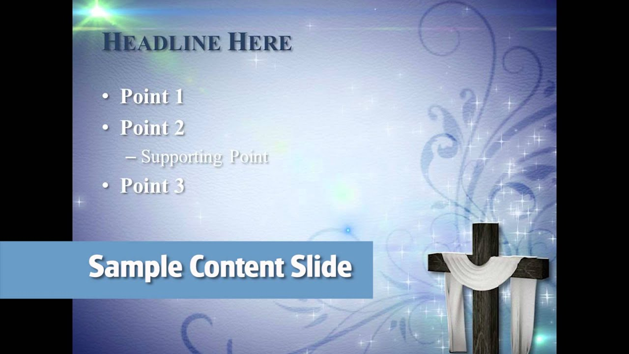 PCM Free Easter PowerPoint Template 2013 YouTube – Sample Easter Powerpoint Template
