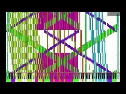 "[Black MIDI] ""Unbounded"" 1.6 Million Notes ~ TheSuperMarioBros2"
