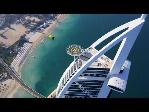 Burj Al Arab Helipad Skydive Landing