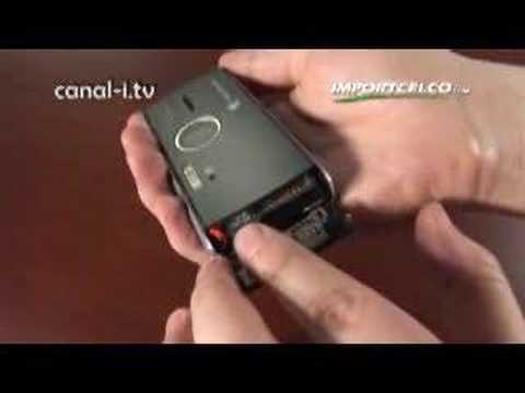 Sony Ericsson K850 review unboxing in English