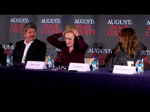 August: Osage County Press Conference Part 4 of 4