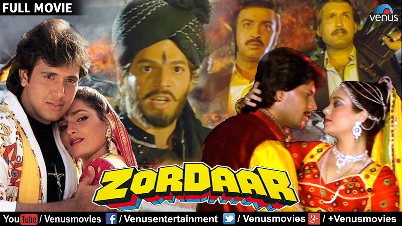 zordaar full movie bollywood action movies govinda