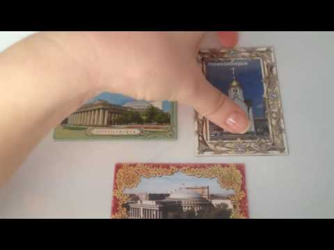 Collection of magnets - Novosibirsk and its attractions