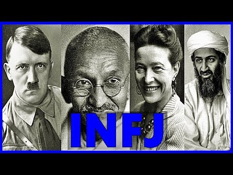50 Famous INFJ People (MBTI - 16 Personalities Test)
