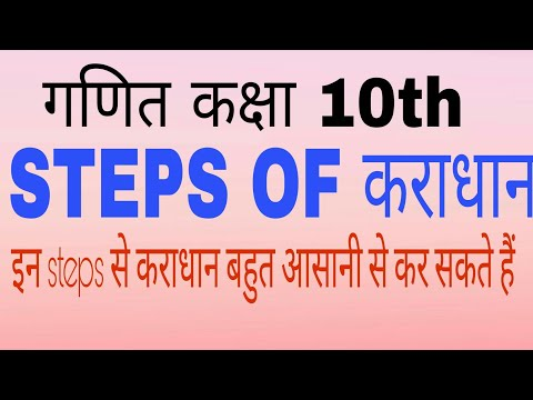 All Steps of कराधान (taxation) कक्षा 10th