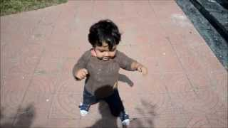 Eyads First walk - A memorable moment in my life