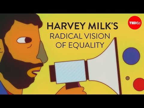 Video image: Harvey Milk's radical vision of equality - Lillian Faderman
