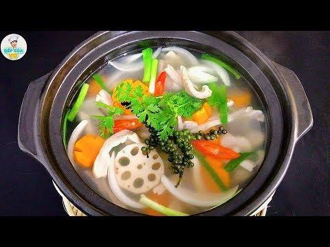BAO TỬ HẦM TIÊU   Cách chế biến bao tử không hôi, mềm giòn   Bếp Của Vợ