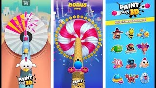 Paint Pop 3D Android Gameplay HD (By Good Job Games)
