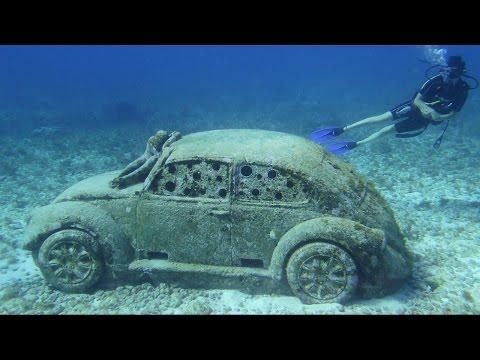 MUSA Unterwassermuseum Cancun