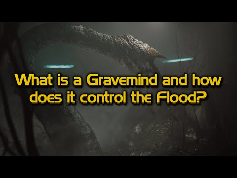 How a Gravemind is formed and how it communicated with the Flood
