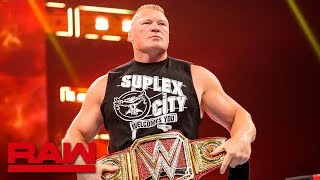 Baixar Brock Lesnar's SummerSlam opponent to be revealed: Raw, July 15, 2019