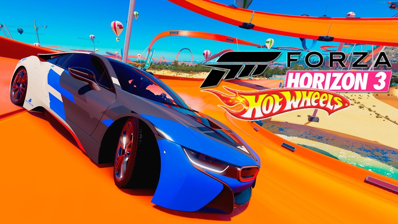 forza horizon 3 hot wheels dlc 7 bmw i8 2015 besta. Black Bedroom Furniture Sets. Home Design Ideas