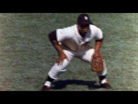 WS1968 Gm5: Horton gets Brock at the plate
