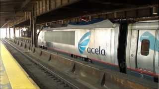 Amtrak & New Jersey Transit - Newark Penn Station Part 1; August 24th, 2012