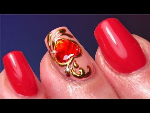 Nail Art Compilation Valentine's Day 2018 Nails Design & Manicure on Gel nails | Best Nail Art 2018