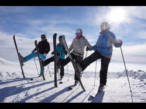 Армения. Цахкадзор. Горные лыжи. Январь 2017.