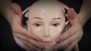 ASMR Skin Care with New Dummy (No Talking)