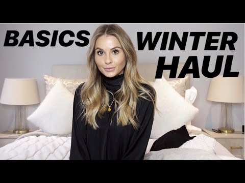 WINTER BASICS HAUL | TOPSHOP, RIVER ISLAND, MICHA LOUNGE | NADIA ANYA