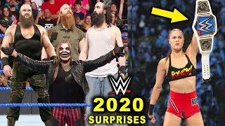 10 Big WWE Surprises Rumored for 2020 - Wyatt Family Reunion