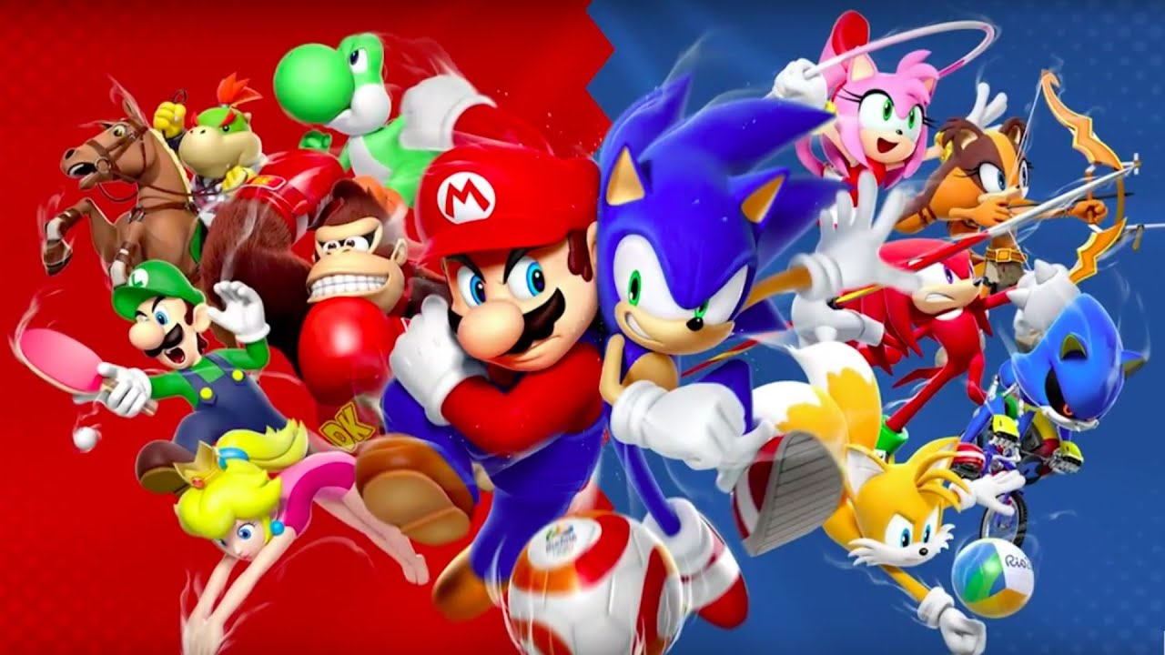 Mario sonic at the rio 2016 olympic games japanese 3ds trailer youtube