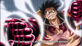 One Piece - Luffy Gear 4 Transformation [ENG SUBBED]