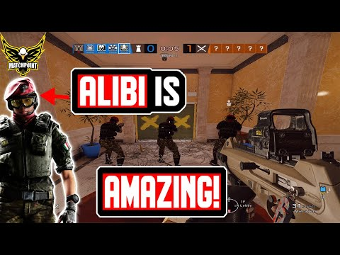 The ULTIMATE 2019 Guide for Alibi - Rainbow Six Siege