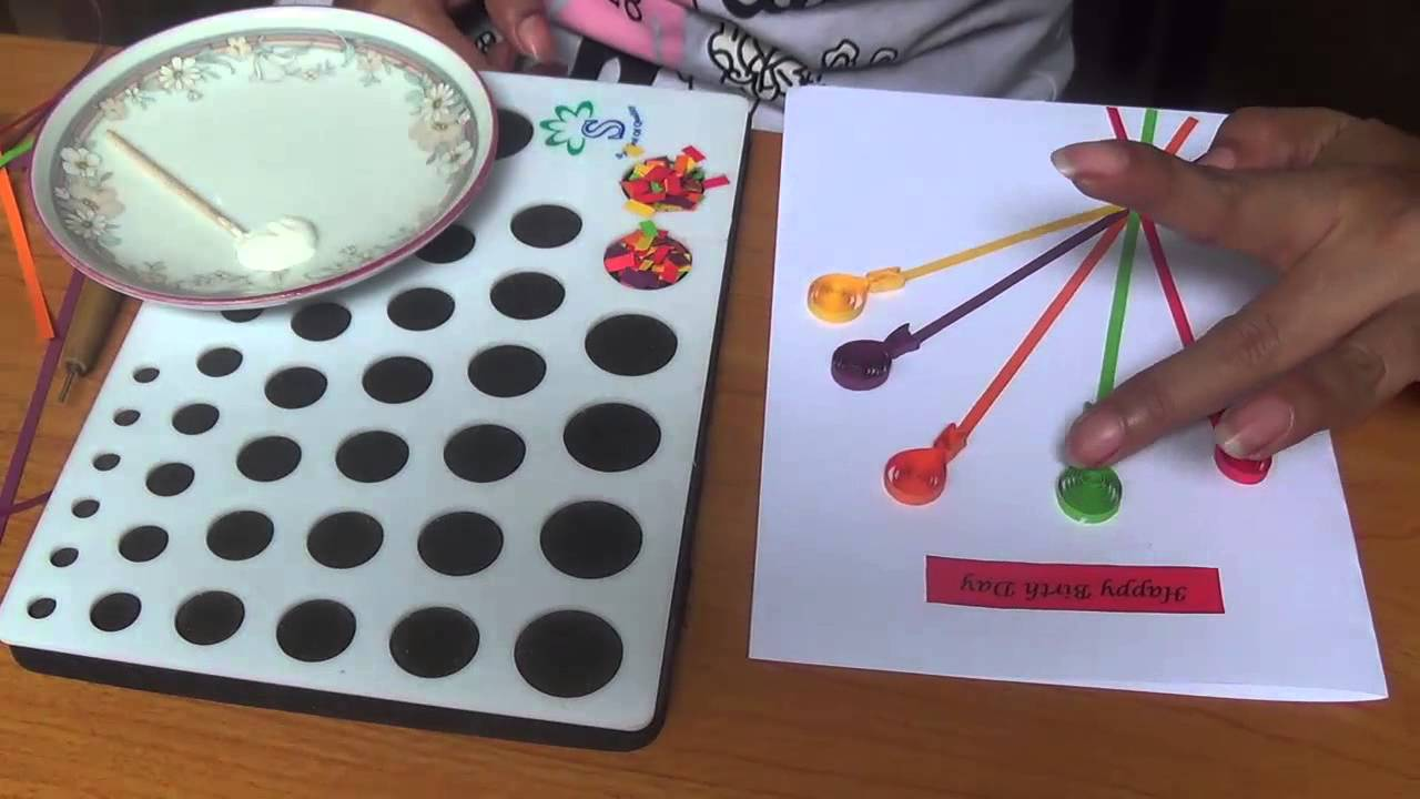 Greeting card making using quilling paper gallery greeting card how to make paper quilling birthday card easy steps youtube how to make paper quilling birthday kristyandbryce Choice Image