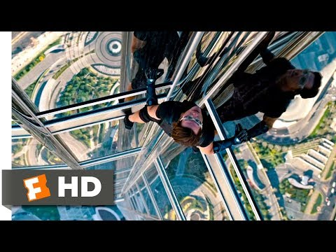 Mission: Impossible - Ghost Protocol (2011) - Climbing the Burj Khalifa Scene (4/10) | Movieclips