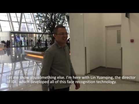Face Recognition demo - Baidu's face-enabled entrance