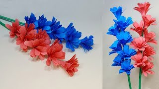 DIY Handcraft Ideas for Room | Easy Making Paper Flower Tutorial | Abigail Paper Crafts
