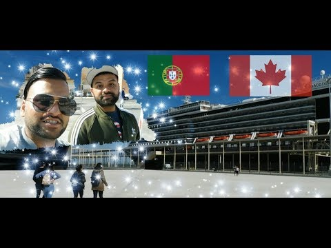 Portugal to Canada (Try To Travel in Ship ) Punjabi Vlog