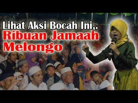 Anak Kecil Ceramah Di Depan Ribuan Jamaah, Bikin Melongo,..