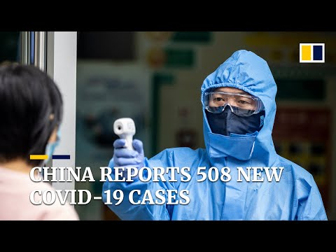 Coronavirus: China Reports 508 New Covid-19 Cases, With Only Nine Outside Outbreak Epicentre
