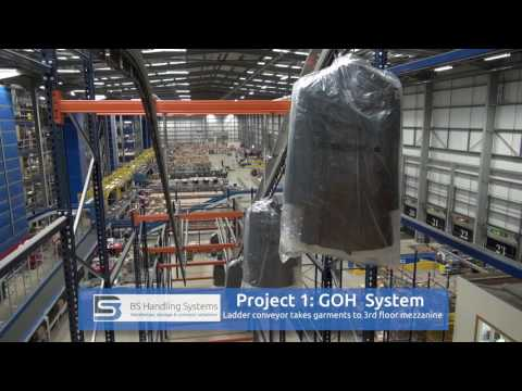 BS Handling completes hanging garment solution and parcel so