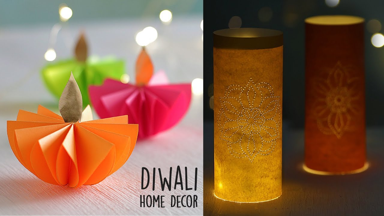 Diy Diwali Home Decor Diwali Decoration Ideas At Home Youtube
