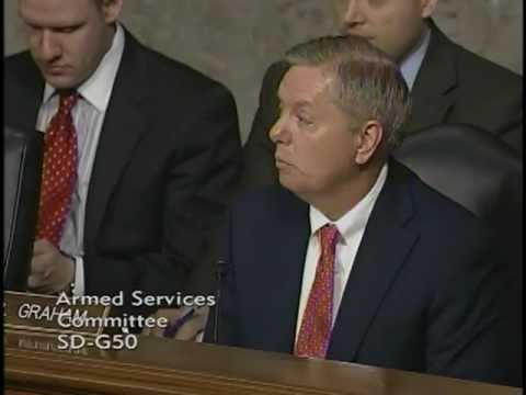 Graham Questions Military Leaders on Charleston Harbor Deepening Project
