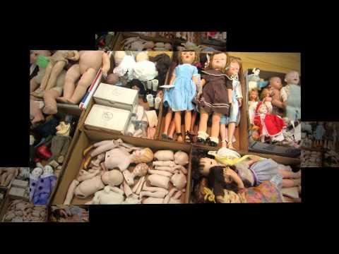 Plain City Auction - October 24, 2014: Antique & Vintage Dolls, Accessories and Fabric