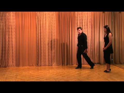 ARGENTINE TANGO - WALKING (BEST EVER)