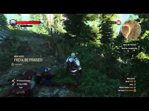 The Witcher 3 Hidden Treasure Freya Be Praised