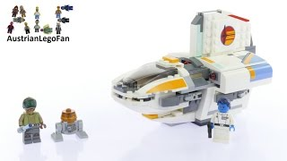 Lego Star Wars 75170 The Phantom - Lego Speed Build Review