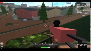 ROBLOX: missão de resgate Blackhawk testando o esquadrão Goon M249