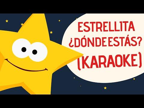 Canciones Infantiles | Estrellita KARAOKE | Toobys