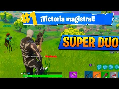 EL SUPER DUO!! Fortnite: Battle Royale (PS4) Willyrex y Lolito