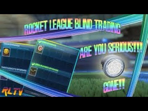 CRAZIEST BLIND TRADING IN ROCKET LEAGUE | I WIN 5 MYSTERY BLACK MARKET DECALS