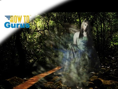 Photoshop Dispersion Effect Ghost : How To Make A Ghostly Figure CC 2019 CS6 CS5 Tutorial