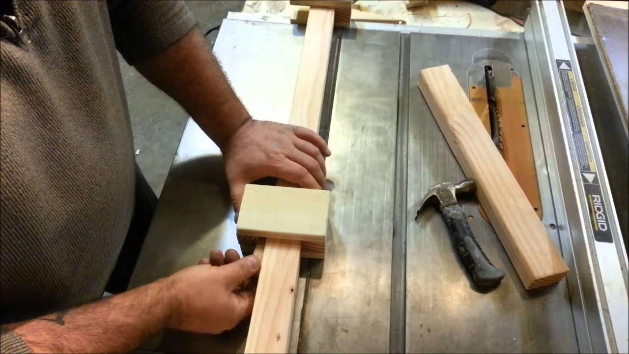 Homemade (Wood) Bar Clamps! No Hardware Needed!   YouTube